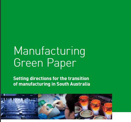 Green Paper for Industry Consultation