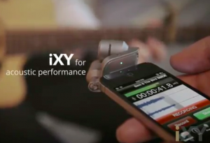 Screen Shot: RØDE iXY stereo microphone for iPhone and iPad