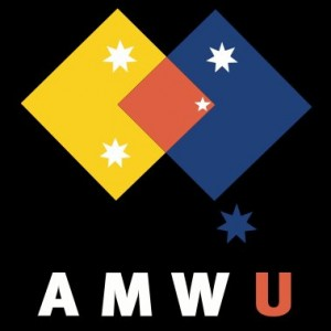 Logo courtesy of AMWU's Facebook Page