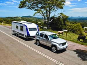 Traditional caravans account for more than half of Australia's RV output, which has topped 20,000 units for the third year in a row. Picture: Malcom Street