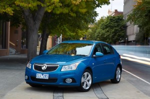 MY14 Holden Cruze Equipe © GM Corp