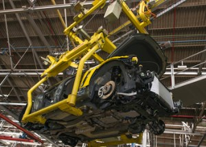 VF Commodore begins regular production - Calais V first down the line. Image: http://www.holden.com.au/