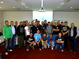 We build ships: Shipbuilding delegates from around the nation plan to campaign. Image: www.amwu.org.au