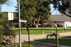 Hundreds of Holden workers prepare to cast their ballots Image credit: ABC News
