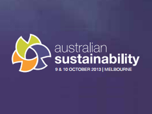 Logo from Australian Sustainability event website