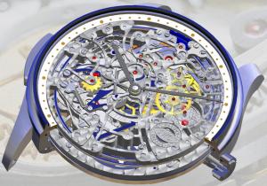 Rendering of an IWC Schaffhausen timepiece Image credit: Siemens