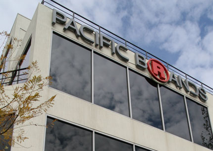 Clothing maker Pacific Brands returns to profitability for the first time since 2010