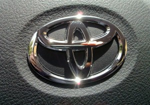 Toyota leads car sales for September Image credit: Flickr user nox-AM-ruit