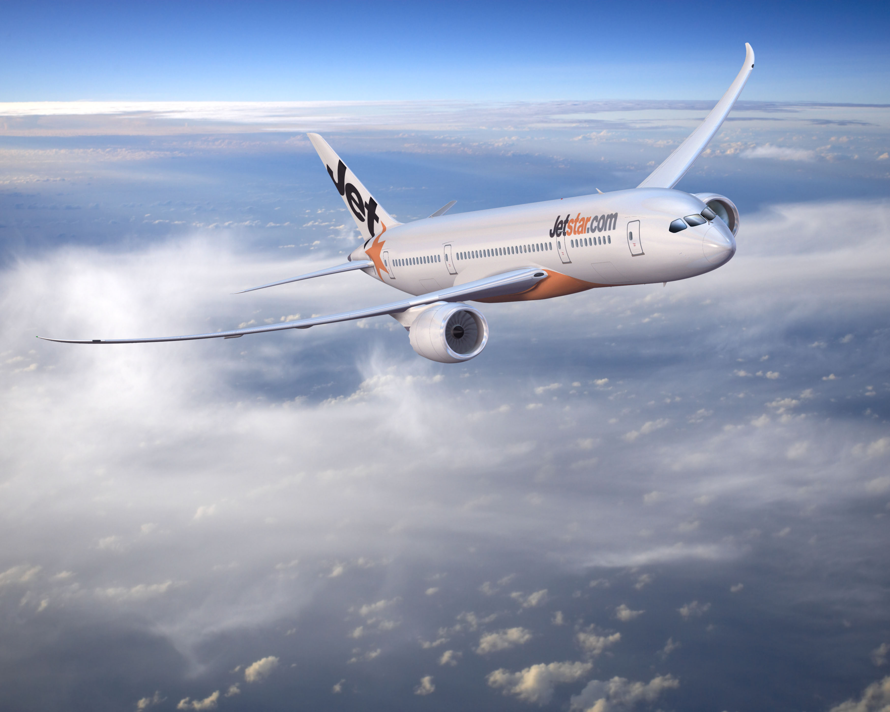 Jetstar's first Dreamliner brings jobs and investments to the Victorian economy