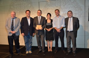 Kimberly-Clark with partners at FSC awards Image credit: Kimberly-Clark media release