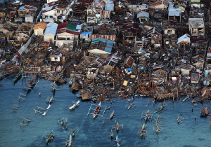 The devastation caused by Haiyan in the province of Leyte, Philippines Image credit: Flickr user Jordi Bernabeu