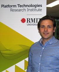 PhD researcher Aaron Belbasis  Image credit: RMIT University Australia