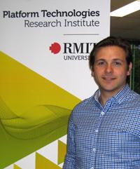 PhD researcher Aaron Belbasis  Image credit: RMIT University Australia