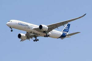 Airbus 350 Image credit: wikimedia commons User: Don-vip