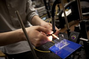 Photonic technology Image credit: flickr User:  Michigan Engineering