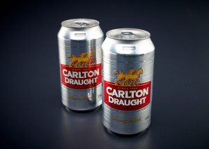 Award winning keg can designed by Amcor  Image credit: Australian Packaging Design Awards