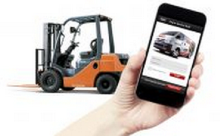 Smartphone app helps customers log in service requests more efficiently