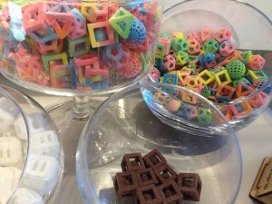 3D printed candy Image credit: flickr User: szabolaszlo25
