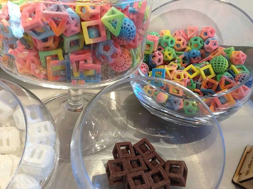 3D Systems to launch professional 3D printers capable of creating edible geometric forms