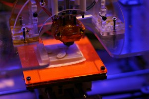 MakerBot 3D printer Image credit: flickr User:  Medialab Prado