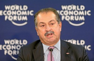 Dow Chemical CEO Andrew Liveris Image: Wikimedia Commons