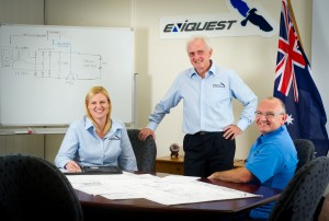 Eniquest - Lauren Todd, Don Pulver and Jeff Hicks