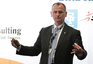 Professor Aleksandar Subic shared his insights at the global sports manufacturing forum. Image: RMIT website