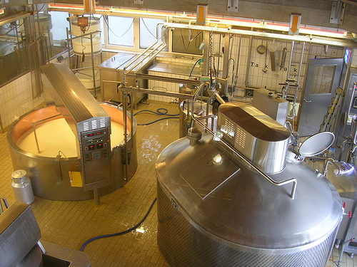 Dairy factory Image credit: flickr User: roger4336