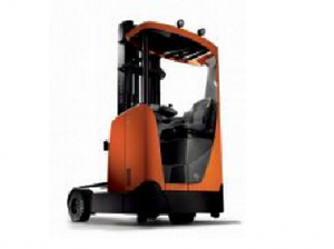 TMHA's new BT Reflex O-Series Reach Truck is specifically designed to operate on outdoor surfaces.