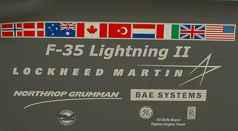 Ceremony to celebrate delivery of first Australian made F-35 Lightning II vertical tail