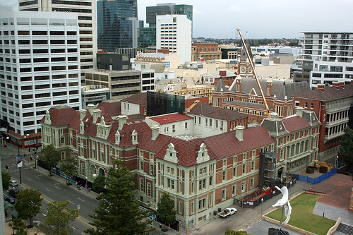 The old treasury building  in Perth  Image credit: flickr user: StuRap