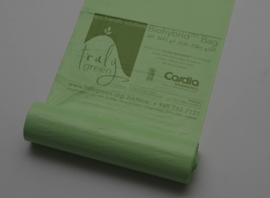 Cardia Bioplastics delivers first Biohybrid bags in the Maldives