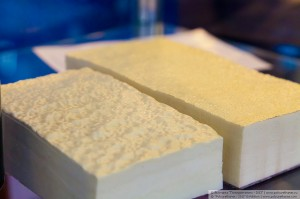 Polyurethane foam Image credit: flickr User: Moscow, Russia