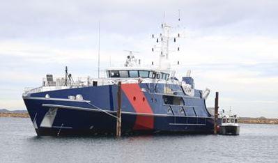Austal launches Cape Nelson — the third Cape Class Patrol Boat