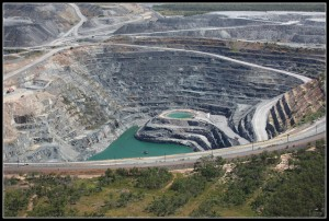 Uranium mine Image credit: Flickr User: Allan Laurence
