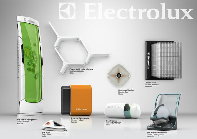 Image credit: Flickr User:  Electrolux Design Lab
