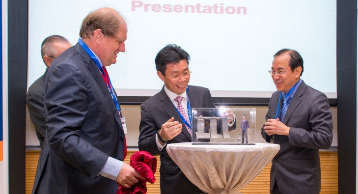 """""""New centre to establish $5 million joint-lab for 3D printing with industry leader SLM Solutions"""" Image credit: www.media.ntu.edu.sg"""