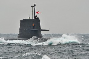 Soryu submarine Image credit: flickr User: Tony Hara