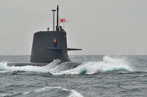 Soryu submarine Image credit: flickr User: Tony Hara