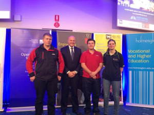 Hodgett officially opens 2014 Industry Skills Forum and Expo