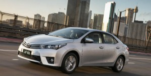 Toyota Corolla as Australia's top-selling vehicle