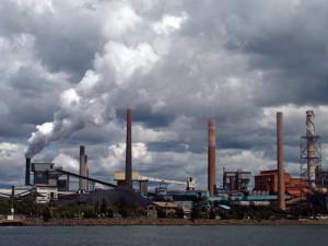 Blaze at BlueScope Steel's Port Kembla plant
