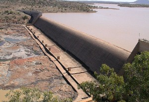 Burdekin Falls Dam Image credit: flickr user: Richard