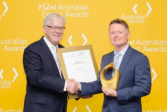 GP Graders awarded Australian Exporter of the Year