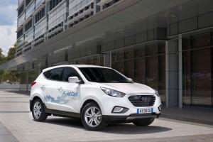 Hyundai ix35 Fuel Cell Image provided