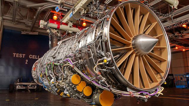 Pratt & Whitney F135 engine Image credit: flickr user: Puma Ruby