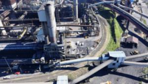 Port Kembla Steelworks Image credit: www.bluescopesteel.com