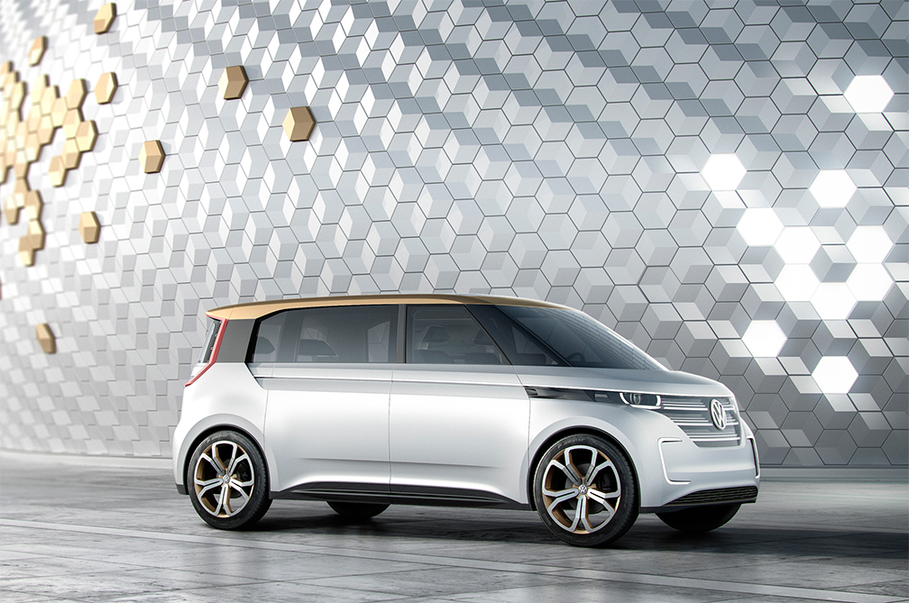 VW unveils all-electric minivan at CES after emissions scandal