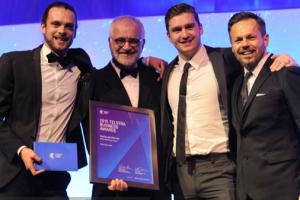 2015 Telstra Australian Micro Business of the Year Award winners – Nexba Beverages Image credit: www.telstrabusinessawards.com