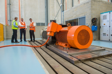 The $5 million  specialised test-bed at Siemens' Perth Service Centre Image credit: corporate.siemens.com.au